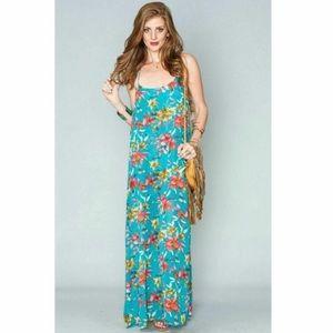 Show Me Your Mumu Floral Sheer Maxi Large